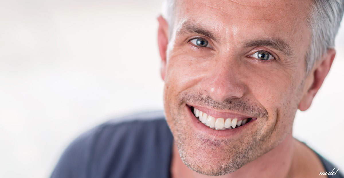 Older man with youthful eyes. (Model)